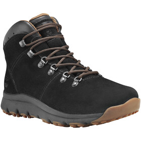 Timberland World Hiker Mid Shoes Men Black Suede